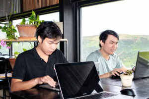 Remote working at Cau Dat-Dalat